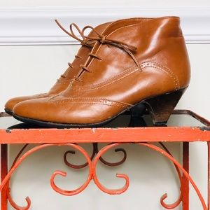 Rare Vintage Leather Booties